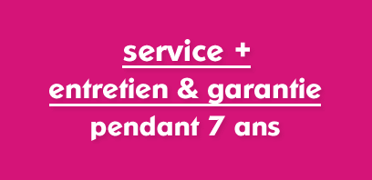 service + entretien & garantie