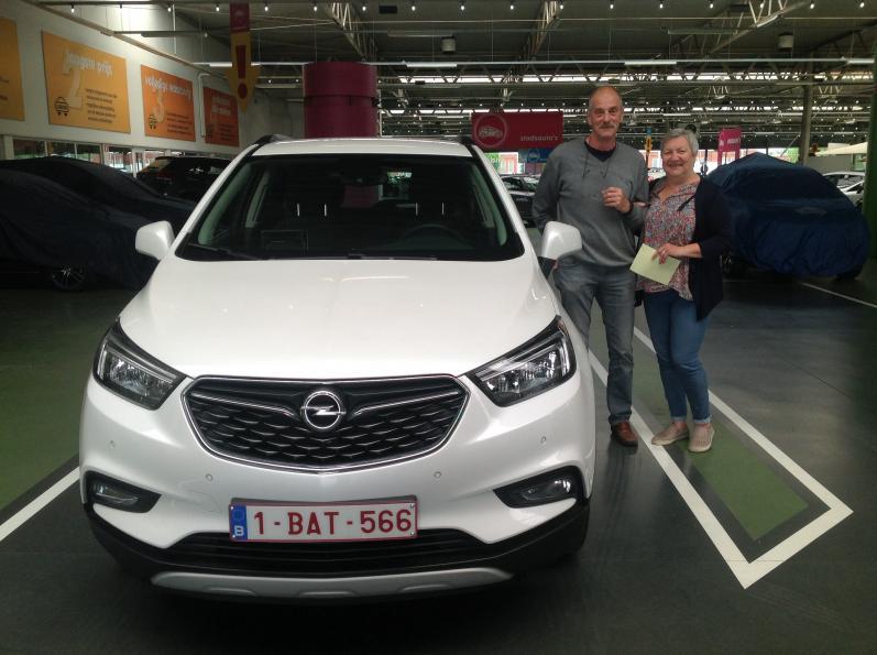 Opel Mokka gekocht bij Antwerpen