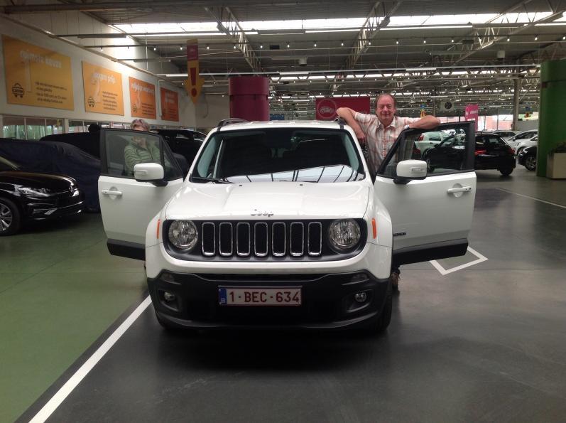 Jeep Renegade gekocht bij Antwerpen
