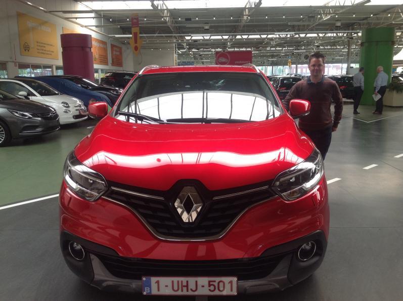 Renault Kadjar gekocht bij Antwerpen