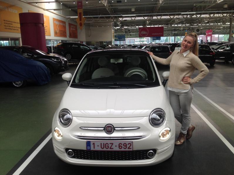 FIAT 500 gekocht bij Antwerpen