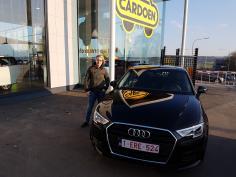 Audi A3 sportback tfsi 116 gekocht bij Namur