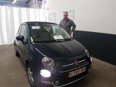 Fiat 500C lounge gekocht bij Namen