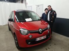 Renault Twingo limited SCE 70 gekocht bij Namur