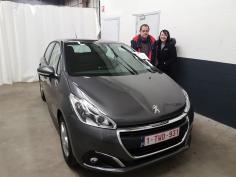Peugeot 208 active puretech 82 gekocht bij Namur