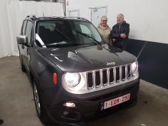 Jeep Renegade limited MJD 115 2WD  gekocht bij Namur