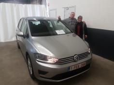 Volkswagen Golf Sportsvan comfortline tsi 110 gekocht bij Namur