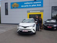 Toyota - C-HR - active turbo 2WD 116 gekocht bij Namur