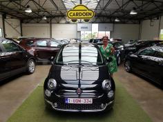Fiat 500 lounge nav gekocht bij Brugge