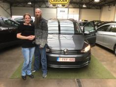 Volkswagen Touran gekocht bij Brugge