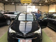 Toyota Avensis Touring Sports gekocht bij Brugge