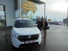 Dacia Lodgy gekocht bij Namen