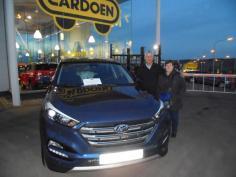 Hyundai Tucson gekocht bij Namur