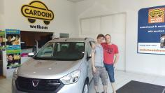 Dacia Lodgy gekocht bij Lier