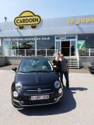 Fiat 500 Lounge  gekocht bij Mons