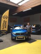 Dacia Sandero Stepway gekocht bij Mons