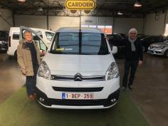 Citroën Berlingo Multispace gekocht bij Brugge