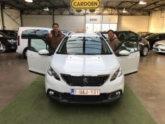 Peugeot 2008 gekocht bij Brugge