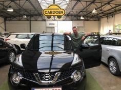 Nissan Juke gekocht bij Brugge