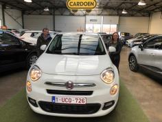 Fiat 500x  gekocht bij Brugge