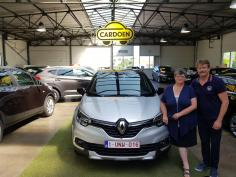 Renault Captur gekocht bij Brugge