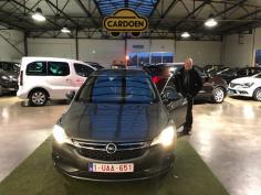 Opel Astra sports tourer gekocht bij Brugge