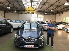 Renault Megane gekocht bij Brugge