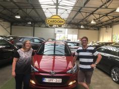 Hyundai i20 gekocht bij Brugge