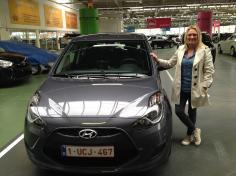 Hyundai ix20 gekocht bij Antwerpen