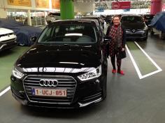 Audi a1 gekocht bij Antwerpen