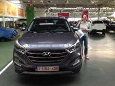 Hyundai Tucson gekocht bij Antwerpen