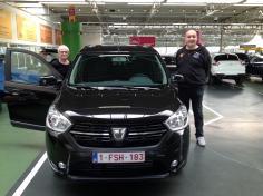 Dacia Lodgy gekocht bij Antwerpen