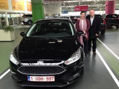 Ford focus gekocht bij Antwerpen