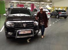 Dacia Sandero gekocht bij Antwerpen
