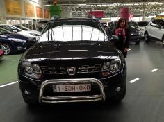 Dacia duster gekocht bij Antwerpen