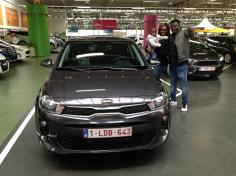 Kia Rio gekocht bij Antwerpen
