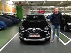 Renault Captur gekocht bij Antwerpen