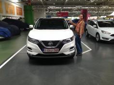 Nissan Qashqai gekocht bij Antwerpen