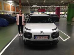 Citroën c4 gekocht bij Antwerpen