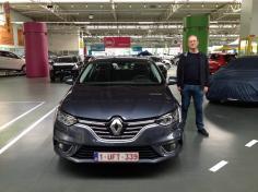 Renault Megane gekocht bij Antwerpen