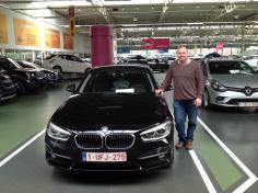 BMW 116 gekocht bij Antwerpen