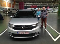Dacia Logan gekocht bij Antwerpen