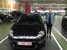FIAT punto gekocht bij Antwerpen