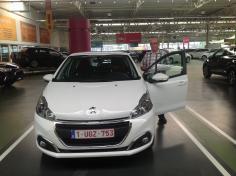 Peugeot 208 gekocht bij Antwerpen