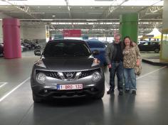 Nissan Juke gekocht bij Antwerpen