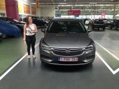 Opel astra gekocht bij Antwerpen