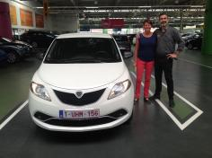 Lancia Y gekocht bij Antwerpen