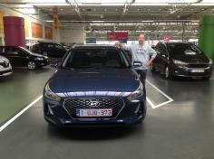 Hyundai i 30 gekocht bij Antwerpen