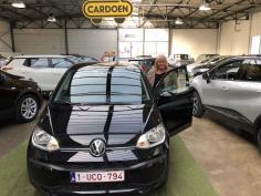 Volkswagen Up gekocht bij Brugge