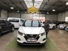 Nissan Qashqai  gekocht bij Brugge